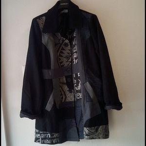Desigual Long Jacket